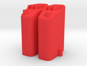248™ Double Trail GasCan in Red Processed Versatile Plastic