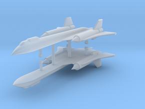 1/500 SR-71B/C Blackbird (x2) in Smooth Fine Detail Plastic