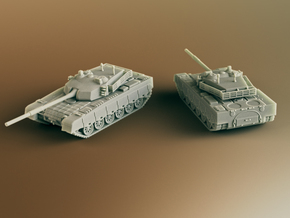 Type 90-II Chinese MBT Scale: 1:160 in Smooth Fine Detail Plastic