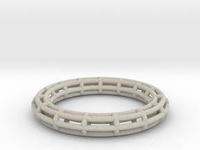 Ring Torus of circles in Natural Sandstone