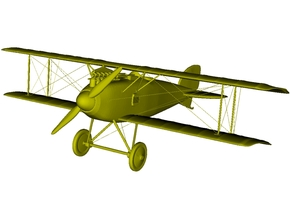 1/285 scale Albatros D.III WWI biplane x 1 in Smooth Fine Detail Plastic