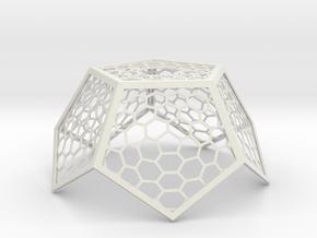 lampshade_illusion_4 in White Natural Versatile Plastic