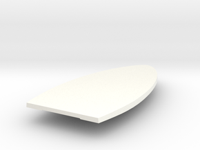 1400 Repulse Lower Hull in White Processed Versatile Plastic