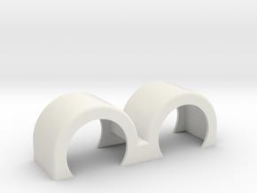Italeria DoubleSwept in White Natural Versatile Plastic