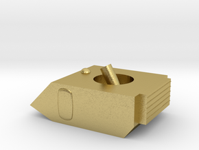 Vixen Small Grav Mortar 1:64 25mm in Natural Brass