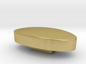 Tensjo kashira 3.57 x 1.04 x 1.96 cm in Natural Brass