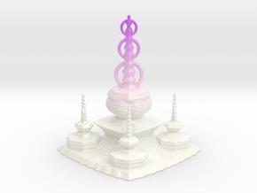 Pagoda in Glossy Full Color Sandstone