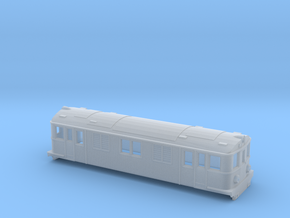 Swedish SJ electric locomotive type D - N-scale in Smooth Fine Detail Plastic