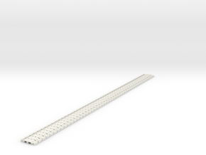 p-165stp-slim-flexi-tram-track-100-pl-x48-1a in White Natural Versatile Plastic