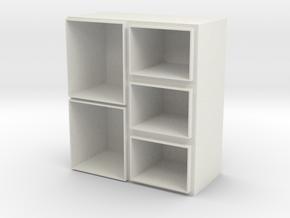 wardrobe in White Natural Versatile Plastic
