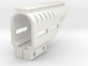 Beretta PX4 Storm RIS Top Rail with M-LOK Slots in White Natural Versatile Plastic