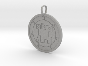 Halphas Medallion in Aluminum