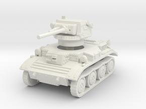 Tetrarch tank scale 1/100 in White Natural Versatile Plastic