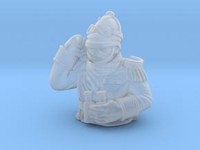 Highlander Tank Commander in Smoothest Fine Detail Plastic
