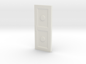 1:35 Door in White Natural Versatile Plastic