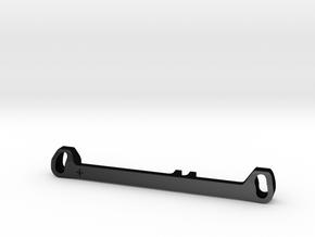 MC3 Wide Front End Stability Kit- Toe In Bar (#1) in Matte Black Steel