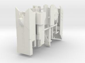 VF-31 Strike Canons (Retractable Pod) in White Natural Versatile Plastic: 1:60