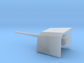1/100 DKM 12.7cm (5in) SK C/34 naval gun in Smooth Fine Detail Plastic