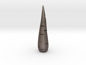 Carrot in Polished Bronzed-Silver Steel