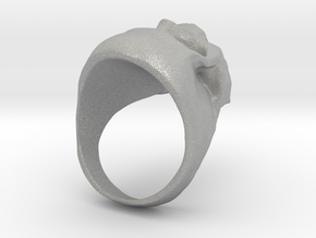 Skull Big Ring in Aluminum: 8 / 56.75