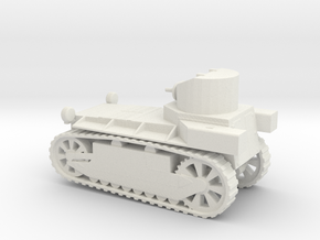 1/72 Scale T1E1 M1918 Staghound Armored Car in White Natural Versatile Plastic