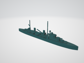 hmas sydney 1/1250 in White Natural Versatile Plastic