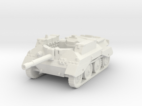 Alecto SPG tank scale 1/87 in White Natural Versatile Plastic