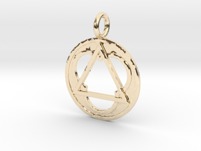 triii in 14k Gold Plated Brass