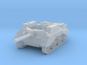 Alecto SPG tank scale 1/144 in Smooth Fine Detail Plastic