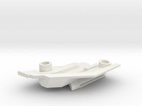 1/1000 Malachowski class - Right Lower Stern in White Natural Versatile Plastic