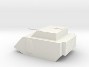 Fox Small Grav Tank 15mm in White Natural Versatile Plastic