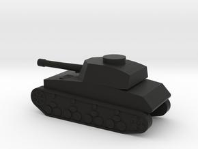 Panzer IV in Black Natural Versatile Plastic