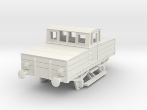 b-76-mr-battery-loco in White Natural Versatile Plastic