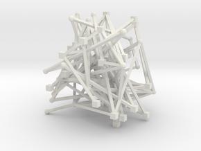 Model of C Programming Language Grammar in White Natural Versatile Plastic