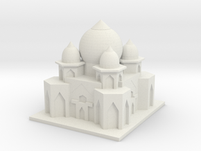 Taj Mahal 2.0 in White Natural Versatile Plastic