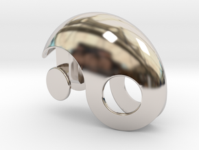 Yin Yang Gift box in Platinum