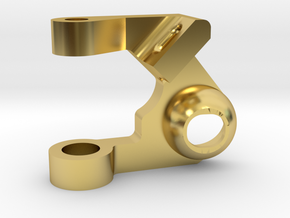 MC3 Wide Front End Stability Kit- Upper Left Arm in Polished Brass