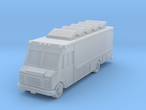 Catering Food 22' truck in Smoothest Fine Detail Plastic: 6mm
