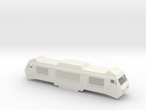 SNCF BB2600 Scale TT in White Natural Versatile Plastic