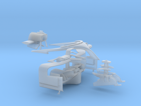 1/20 SF71H conversion parts in Smooth Fine Detail Plastic