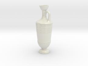 Lekythos in Glossy Full Color Sandstone