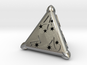 D4 Balanced - Constellations in Natural Silver