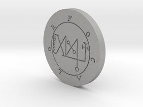 Focalor Coin in Aluminum