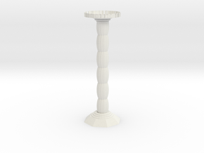 candlestick in White Natural Versatile Plastic