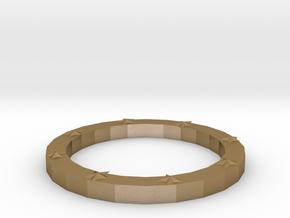 Lucky bracelet in Polished Gold Steel