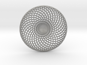 0163 Torus of Doubly Twisted Strips (n=32, d=15cm) in Aluminum