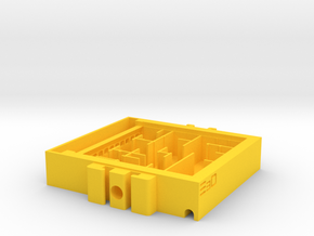 Expandable Ant Farm Nest for Large Ants in Yellow Processed Versatile Plastic