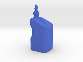 1Tenth Scale Plain Tuf Jug in Blue Processed Versatile Plastic