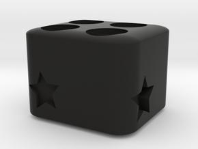 Storage Box in Black Natural Versatile Plastic