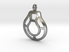 Pendant 12-13-2018 in Natural Silver